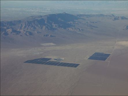 Searchlight, NV Solar Project Harry Reid's home town, Unlicenced even for commercial use 9-5-14