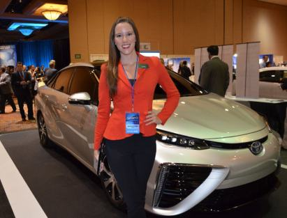 Toyota 2015 FCV with Maggie NCES 7 9-4-14